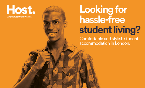 Host. Where students are at home
