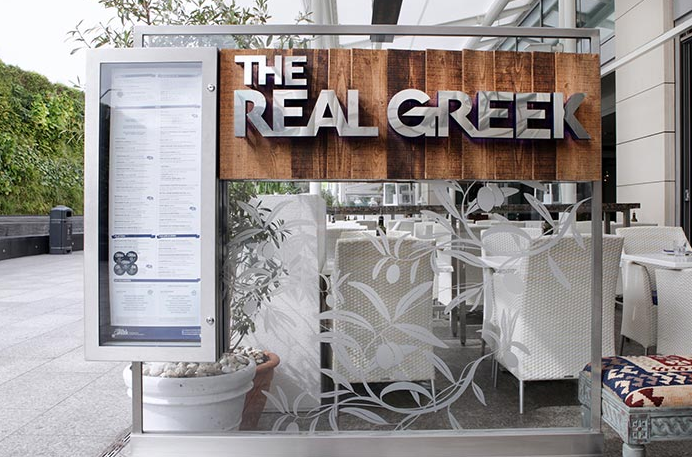 The Real Greek - Westfield London Gallery
